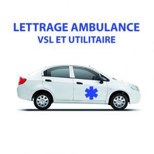 1 Marquage Ambulance