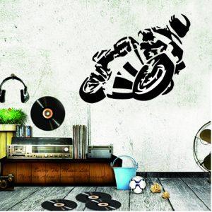 moto voiture et camion